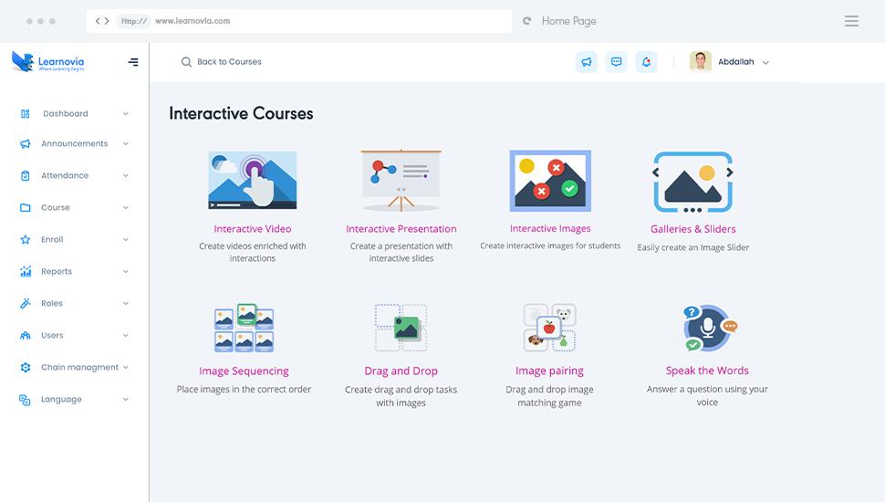 Interactive Courses